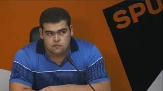 Пресс-конференция сборной Армении по тяжелой атлетике