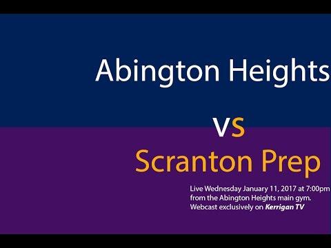 Abington Heights Plays Scranton Prep  1/11/17