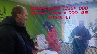 Триумфальный ПОЗОР ОРГАЛИТ Плюс и ООО 43 Регион ч. 1 юрист Вадим Видякин