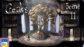 Creaks: Scene 11 Walkthrough & iOS Apple Arcade Gameplay (by Amanita Design)