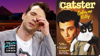 Jay Baruchel Finally Gets His Cat Fancy Cover