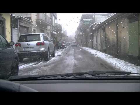 Nevicata a nicolosi