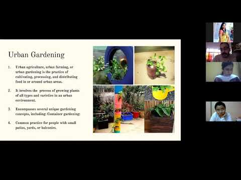 Webinar on Urban Gardening and Upcycling with Vivekanand School