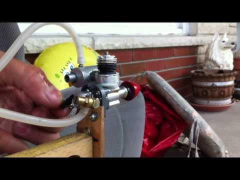 Cox .049 Sure Start with Carburetor and Homemade Muffler RC