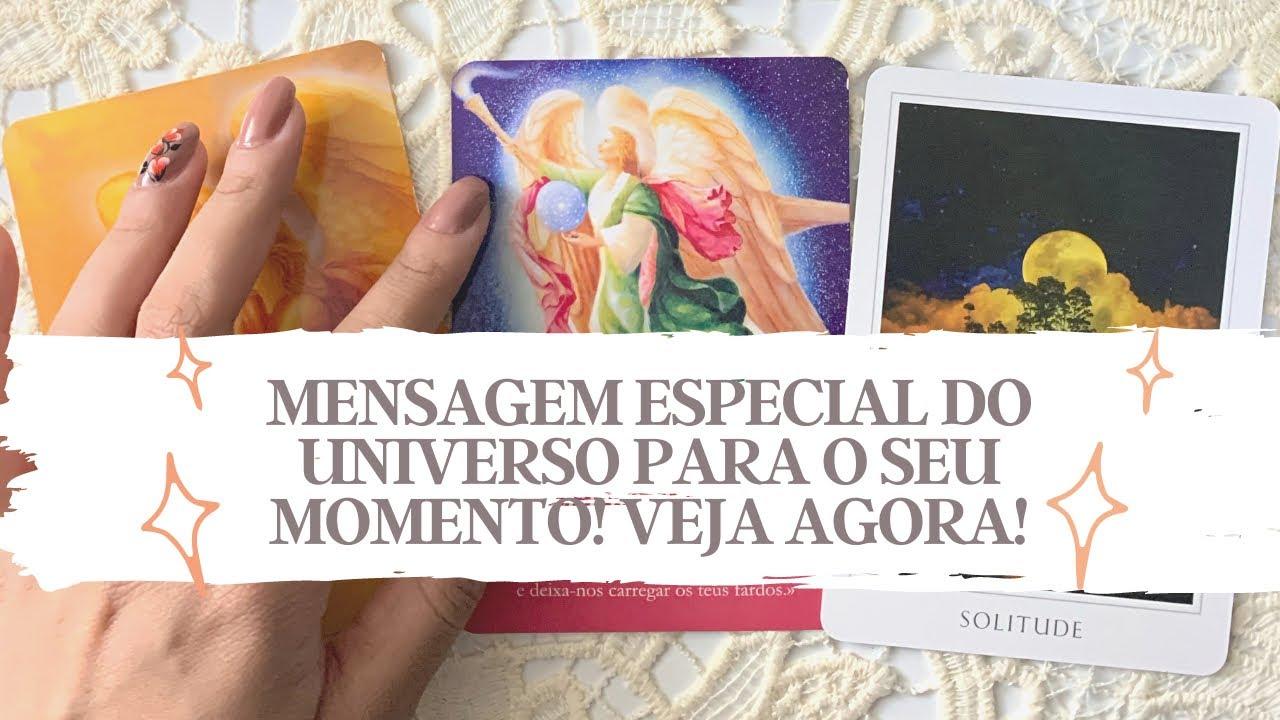 MENSAGEM IMPORTANTE DO UNIVERSO PARA VOCÊ! VEJA AGORA! - Tarot responde