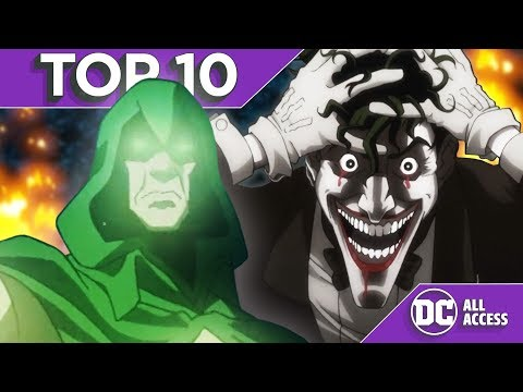 Thumbnail: Top 10 Scariest DC Animated Moments