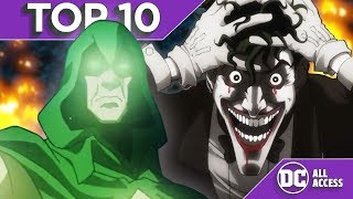 Top 10 Scariest DC Animated Moments