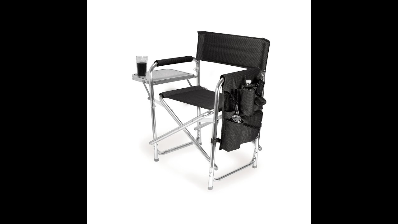 Reviews Picnic Time Portable Folding Sports Chair