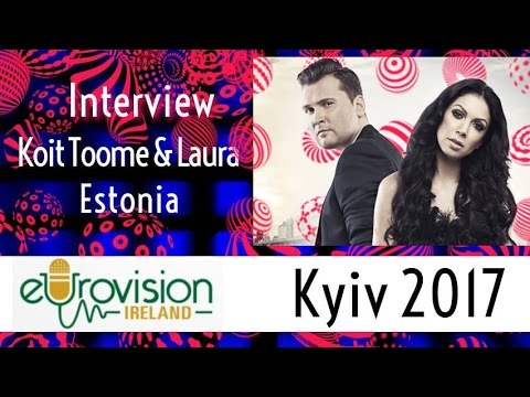 #ESTONIA: Interview with Koit Toome and Laura at Eurovision 2017