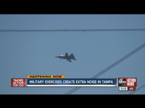 Military exercises create extra noise in Tampa