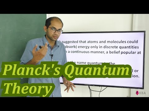 Particle nature of electromagentic radiation Plancks Quantum Theory