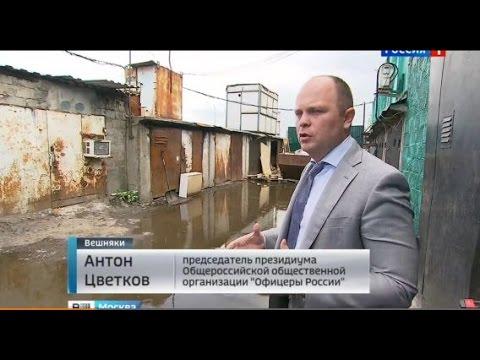 Другая жизнь: нелегальный рынок, магазины и ночлежки у метро «Выхино» (Антон Цветков, Вести-Москва)