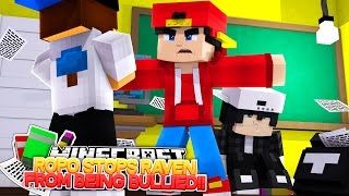 Minecraft Adventure - ROPO PROTECTS RAVEN FROM A BULLY!!