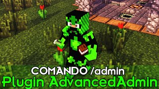 Minecraft Plugin Tutorial AdvancedAdmin - COMANDO /admin