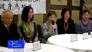 World Health Qigong Day Media Conference- TorontoTV Report