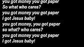 Lecrae Got Paper with Full lyrics