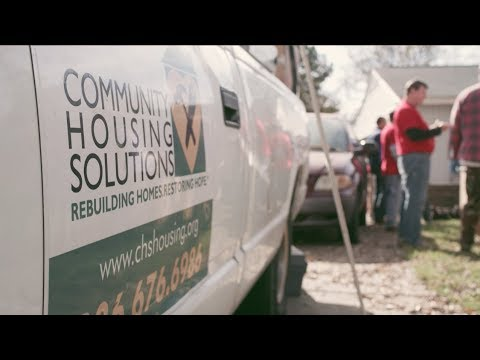 "First Bank and Community Housing Solutions - ""Dream It. Do It."""