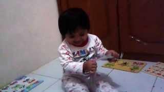 Anak Lucu Hafal Rukun Islam, Pintar, Sholeha (mendidik Anak Islami, Mendidik Anak 1 Tahun)