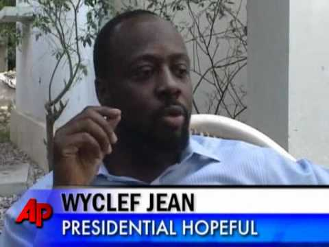 Wyclef Jean Can't Run for Haiti President