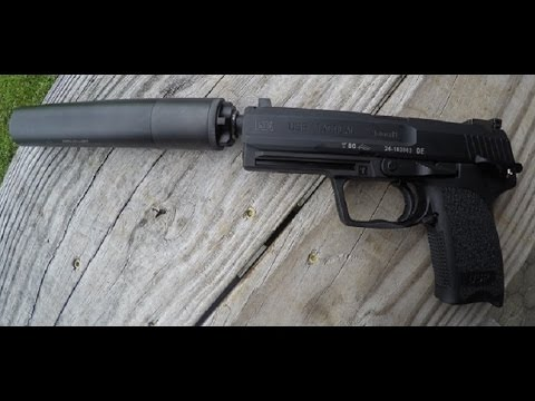 First Shots _ Suppressed HK USP Tactical 9
