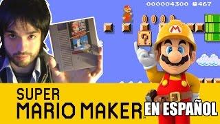 SUPER MARIO MAKER - Jugando Etapas del Mundo ! | En español por Zeta |