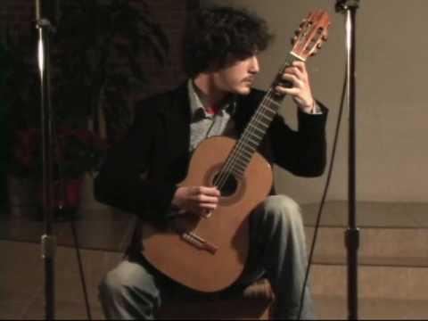 Gabriel Bianco Guitarist GFA Winner 2008