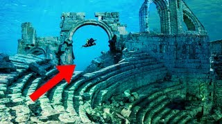 Most MYSTERIOUS Cities Found Underwater!