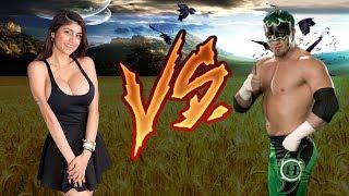 Mia Khalifa vs WWE