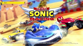 Team Sonic Racing for Nintendo Switch | 12 Minutes of Handheld Gameplay (Direct-Feed Switch)