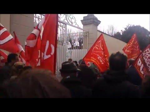 Manif contre la lois du travail El Khomerie Niort 09/03/16
