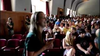 Marywood Orientation 2012 Flash Mob