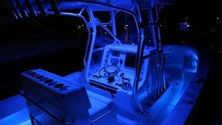 LED Lighting for Center Console Boats - The Fish'N' Crazee TV Show