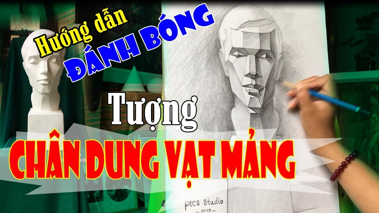 Vẽ Tượng Thạch Cao Cơ Bản | ThienNuBangNhi