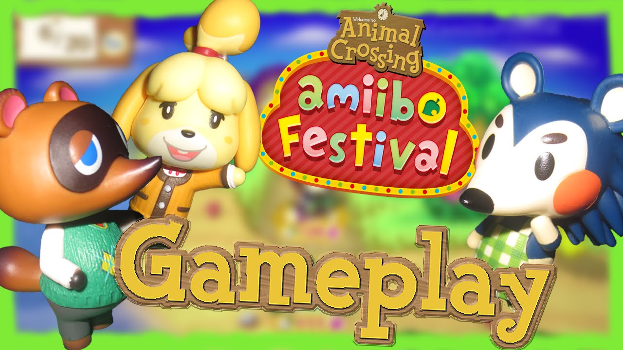 ABM: Animal Crossing Amiibo Festival !! *November Board ...