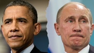 Presidents Barack Obama and Vladimir Putin