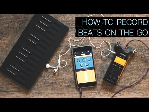 Recording Beats & Electronic Music On The Go | TAETRO vlog
