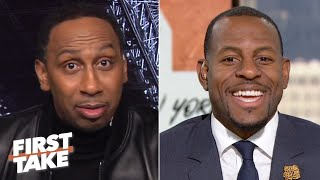 Andre Iguodala is ready to play and contend for an NBA title | First Take