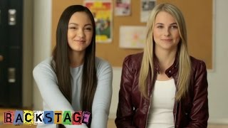 Vanessa and Carly | Behind the Scenes | Backstage | Disney Channel