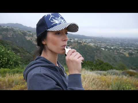 Hiking in Topanga, California with the Ghost MV1