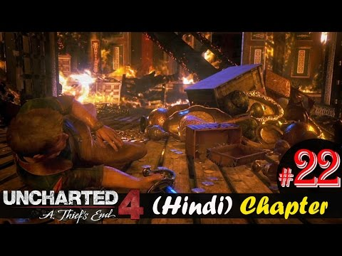"Uncharted 4 Hindi Chapter 22 - ENDING / EPILOGUE - ""A Thief's End"" PS4 Gameplay Walkthrough"