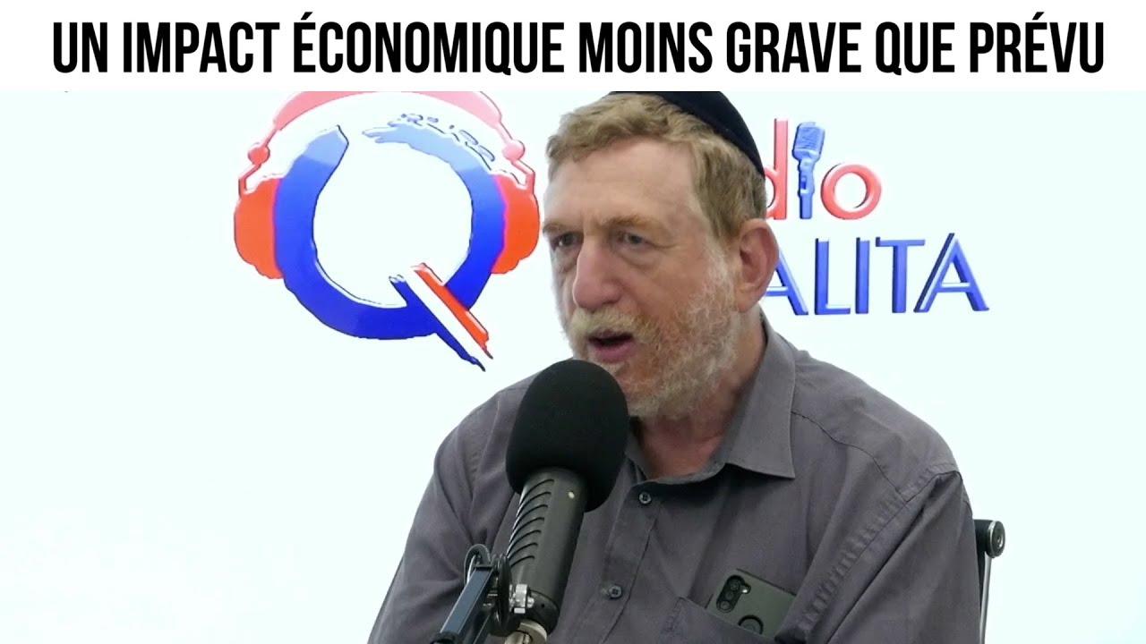 Un impact économique moins grave que prévu