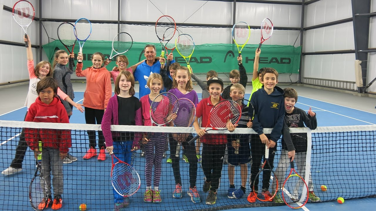 Tomorrow's Champions After School Tennis Program - YouTube