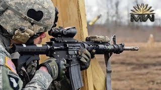 5 56mm M4 Carbine Us Armed Forces Review
