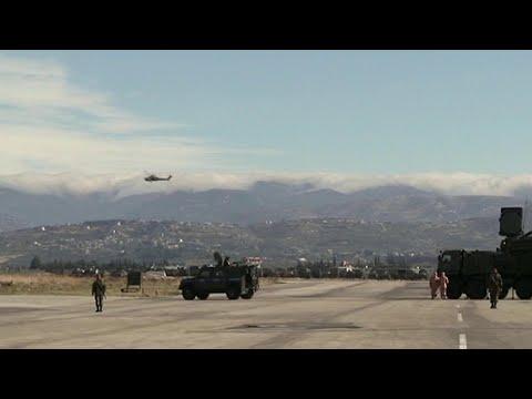 Террористы попытались атаковать российскую авиабазу Хмеймим с помощью беспилотников.