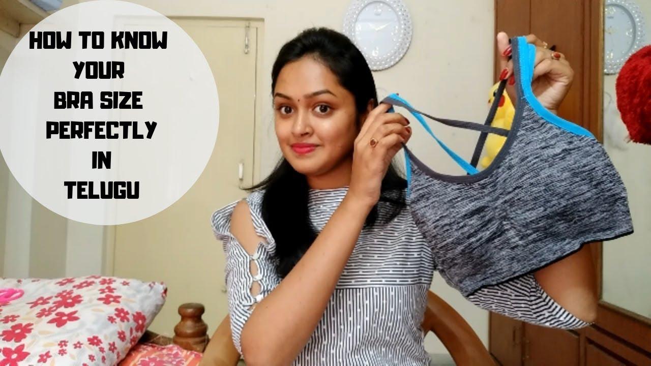 1e1f5f1a801 How to Measure Right BRA Size In Telugu
