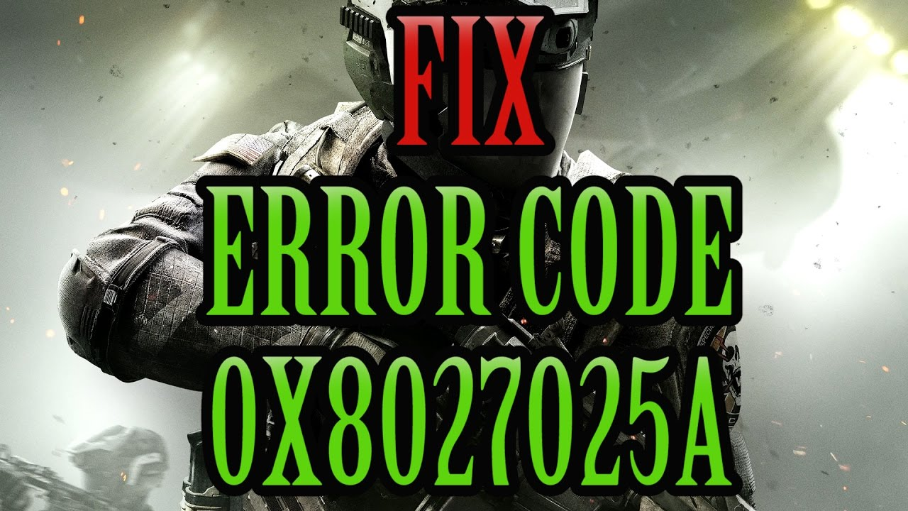 3+ Fixes For the Xbox Error Code 0x8027025a - The Error Code