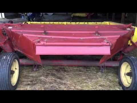 New holland 478 7ft haybine for sale youtube new holland 478 7ft haybine for sale fandeluxe Choice Image