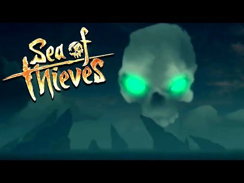 Secret Treasure of the Pirate King! - Destroying a Pirate Fortress - Sea of Thieves Gameplay
