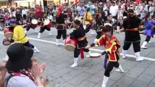 新宿エイサーまつり 2015年7月25日 セントラルロード 「年中口説」