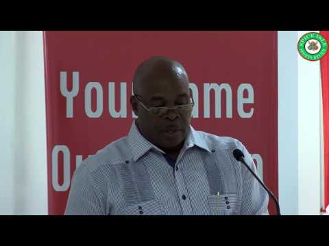 Grenada Union of Teachers/Grenada Football Association National Youth League Launch